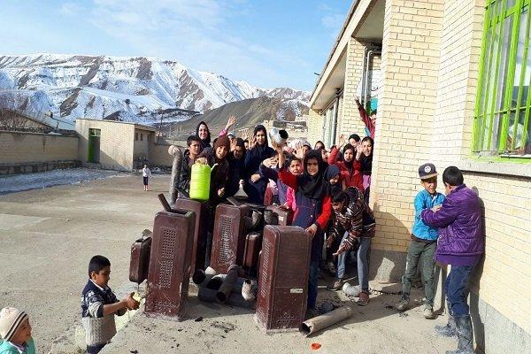 بخاری های نفتی و گازی از مدارس قزوین برچیده می شود