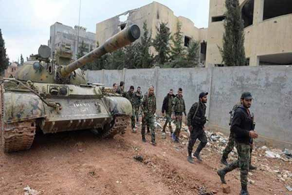 Syrian army seizes control of Kafar Nabboudeh town in Hama countryside
