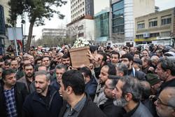 مراسم تشییع مرحوم محمدنبی حبیبی دبیرکل حزب موتلفه