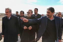 سفر رئیس مجلس شورای اسلامی به شهرستان های بستان آباد و سراب