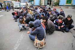 ۴۰ معتاد متجاهر در زنجان جمع آوری شد