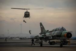 افتتاح نمایشگاه دستاوردهای هوایی نیروهای مسلح