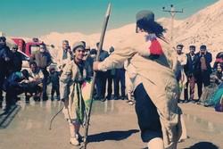 جشنواره ملی برفی در پیست اسکی کاکان یاسوج آغاز شد