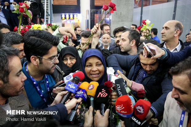 Marzieh Hashemi back in Tehran after days of detention in US
