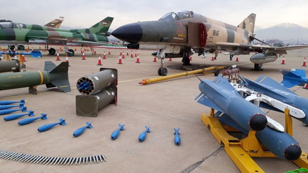Armed Forces' aerial achievements expo opens in Tehran