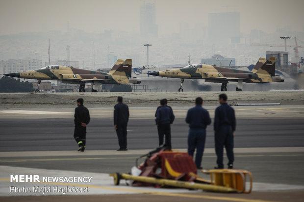 افتتاح المعرض الجوي للقوات المسلحة الايرانية
