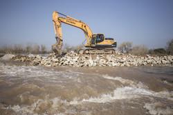 مسدود شدن ۴مسیر روستایی رودخانه با تداوم بارشها