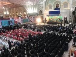 مراسم سالروز ورود امام خمینی به ایران در استان تهران برگزار شد