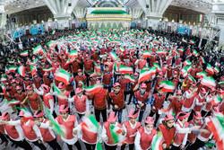 İslam Devrimi'nin 40. yıldönümü töreni resmen başladı