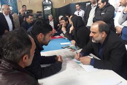 میز خدمت فرمانداری شهرستان البرز در محمدیه تشکیل شد