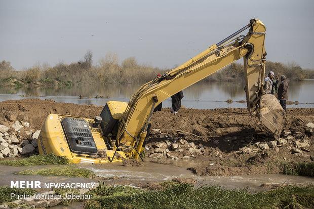 نقاط حادثه خیز سواحل رودخانه های خوزستان شناسایی شود