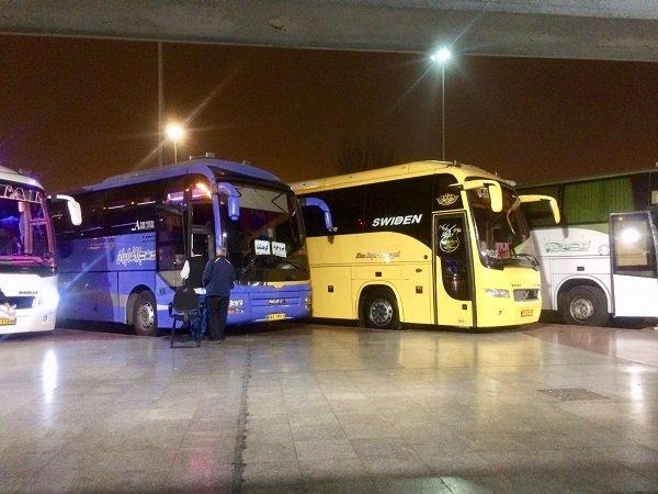 سفرهای اتوبوسی نوروز  ۸۰ درصد کمتر از پارسال بود