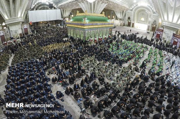 مراسم احياء الذكرى الثلاثين لرحيل مفجر الثورة الاسلامية الامام الخميني (ره)
