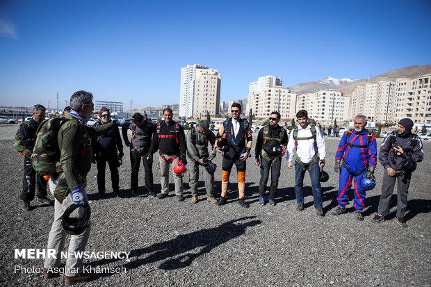 مهرجان الرياضات الهوائية في ايران
