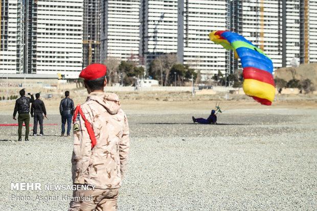 نمایشگاه ورزش های هوایی نیرو هوافضای سپاهa Air sports festival of IRGC Aerospace Force