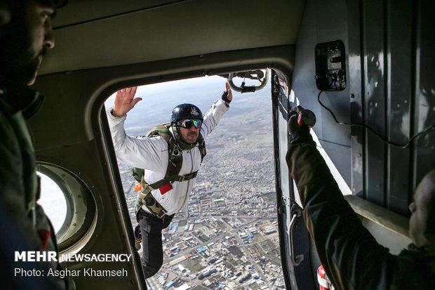 Air sports festival of IRGC Aerospace Force