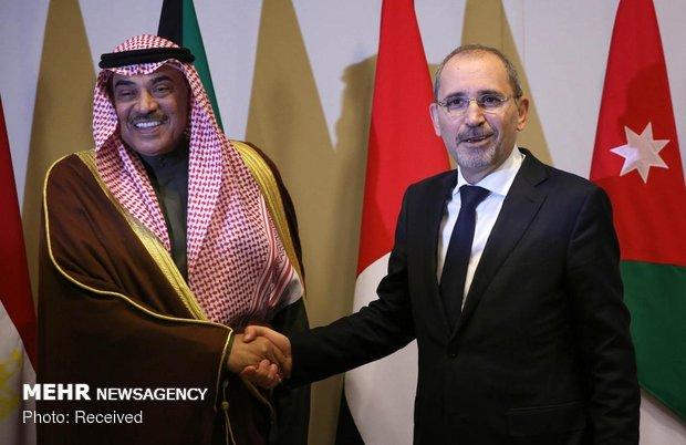 نشست 6 کشور عربی در اردن