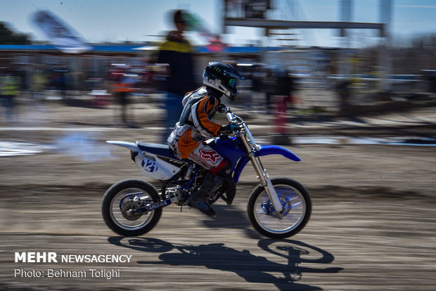 Nationwide motocross c'ship competition, special of female