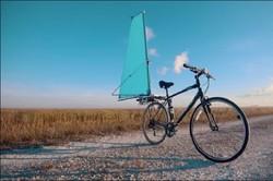 دوچرخه بادبانی هم از راه رسید