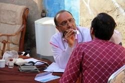 اعزام تیمهای پزشکی نیروهای مسلح به مناطق محروم کرمانشاه