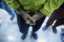 اعضای باند ۵ نفره سارقان غیربومی طلاجات منزل در دیلم دستگیر شدند