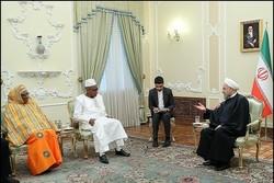 روحانی: تنمية العلاقات مع دول أفريقيا تتمتع بأهمية كبيرة بالنسبة لإيران