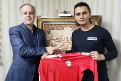 اکبر ایمانی به تیم فوتبال تراکتورسازی پیوست