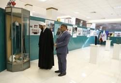 برپایی غرفه بنیاد شهید در نمایشگاه ملی دستاوردهای انقلاب