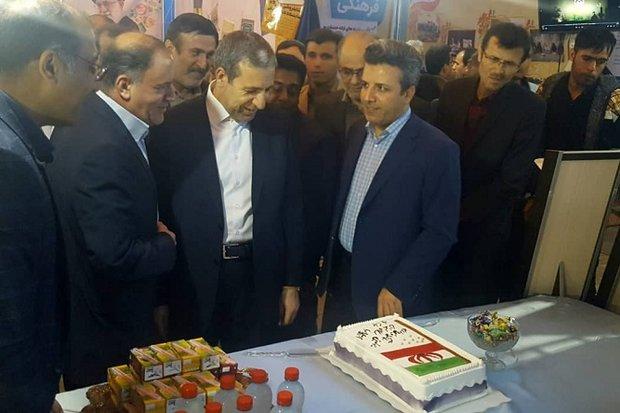 نمایشگاه دستاوردهای ۴۰ ساله انقلاب اسلامی در بوشهر گشایش یافت