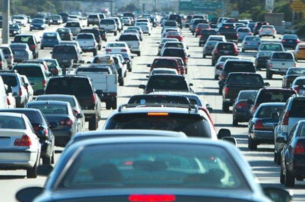 ترافیک در محور هراز پرحجم است