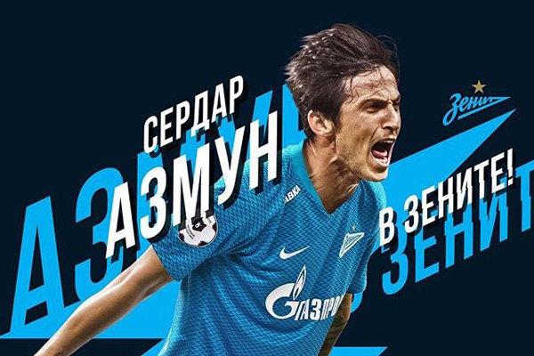 """İranlı golcü """"Serdar Azmoun"""" FK Zenit'le anlaştı"""