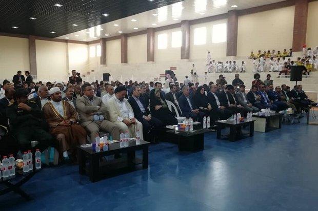 آئین افتتاح و کلنگزنی ۴۱ پروژه عمرانی در شهرستان عسلویه آغاز شد