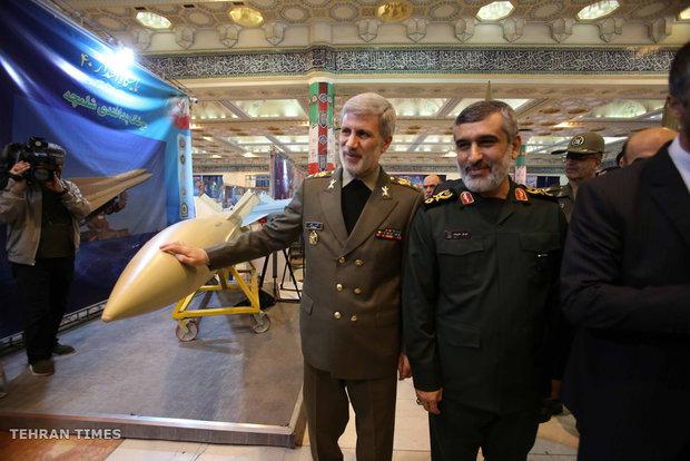 Iran unveils long-range cruise missile