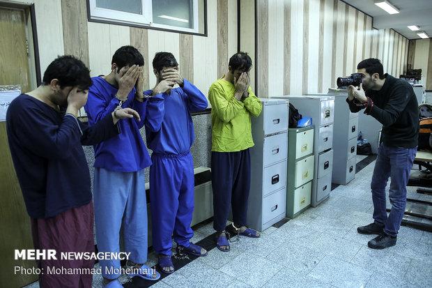 دستگیری شش سارق مسلح در تهران