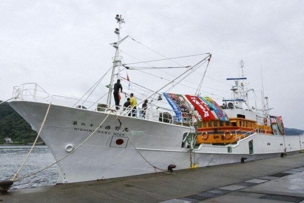 روسیه یک کشتی ماهیگیری ژاپن را توقیف کرد