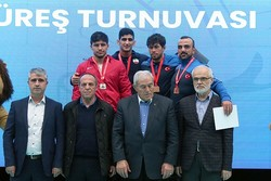 Iran GR wrestles bag 3 medals at intl. tourn. in Turkey