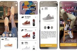 با اپلیکیشن واقعیت افزوده کفش مجازی بپوشید و بخرید