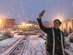 هطول الثلج بمدينة تبريز / صور