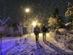 Snowy Tabriz