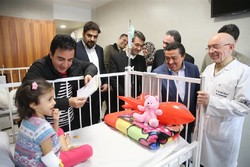 """افتتاح قسم الكبد والتغذية بمستشفى """"مفيد"""" للأطفال /صور"""