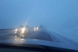 باران و برف در البرز و زاگرس/ کولاک و لغزندگی در جادههای شمال