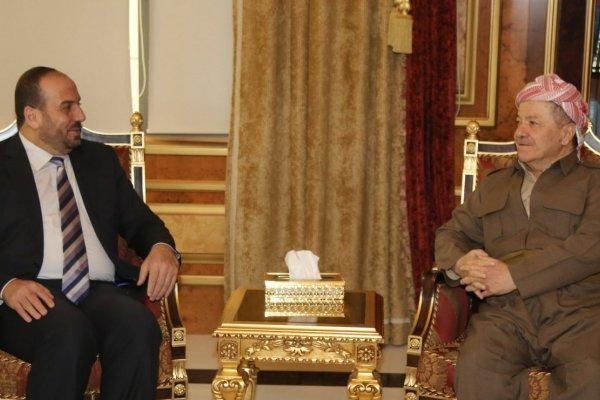 Barzani'den Suriyeli muhaliflerle kritik görüşme