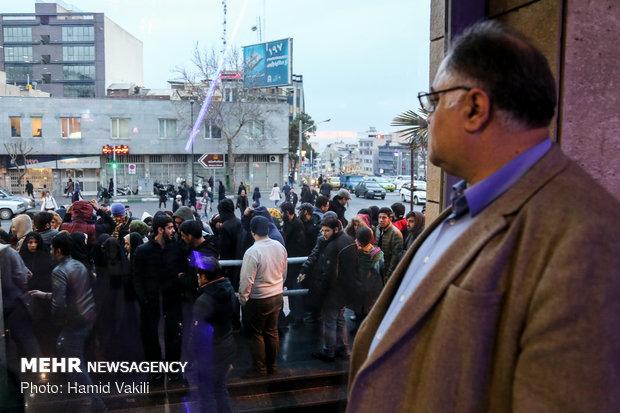 استقبال پرشور مردم از سی و هفتمین جشنواره فیلم فجر