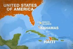 ۲۸ تبعه هائیتی در آبهای جزایر باهاماس غرق شدند