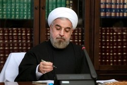Rouhani felicitates Kyrgyz counter part on National Day