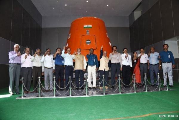 هند فضانورد به مدار زمین می فرستد