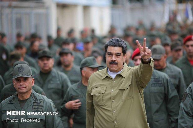 Maduro: ABD gözlerini Venezuela halkının zenginliklerine dikmiş durumda