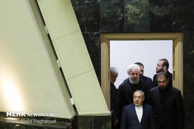 جلسه راي اعتماد به وزير پيشنهادي بهداشت
