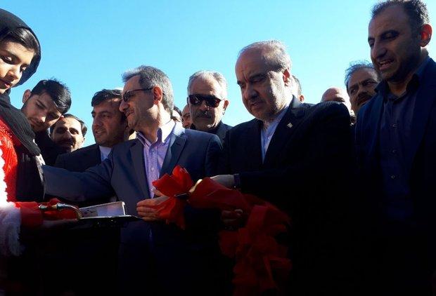استادیوم ۵ هزار نفری نسیم شهر افتتاح شد