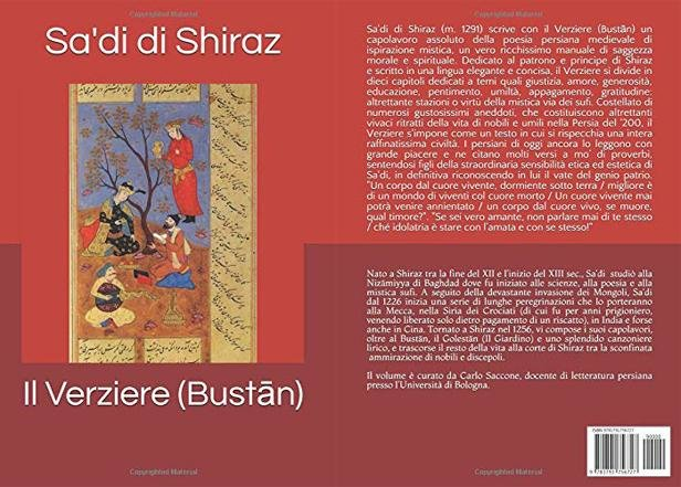 First Italian translation of Sadi's 'Bustan' published